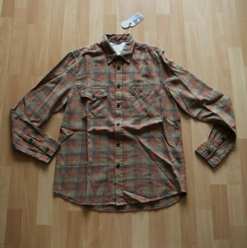 Shirt Sten Hemd Nudie Jeans M Tricolor Neu Beige Tricolour Check IRSwR