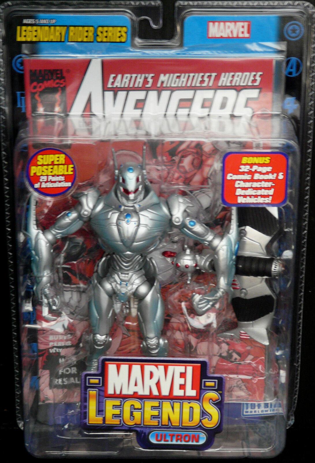 Marvel Legends Legendary Rider Series. ULTRON New  Rare  Avengers