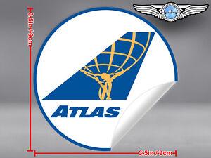 ATLAS-AIR-ATLASAIR-ROUND-LOGO-STICKER-DECAL