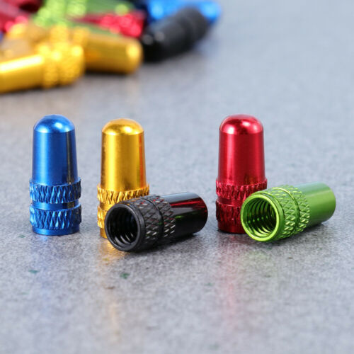 30x Presta Valve Cap Anodized Machined French Style Bicycle Bike Tire Valve Caps