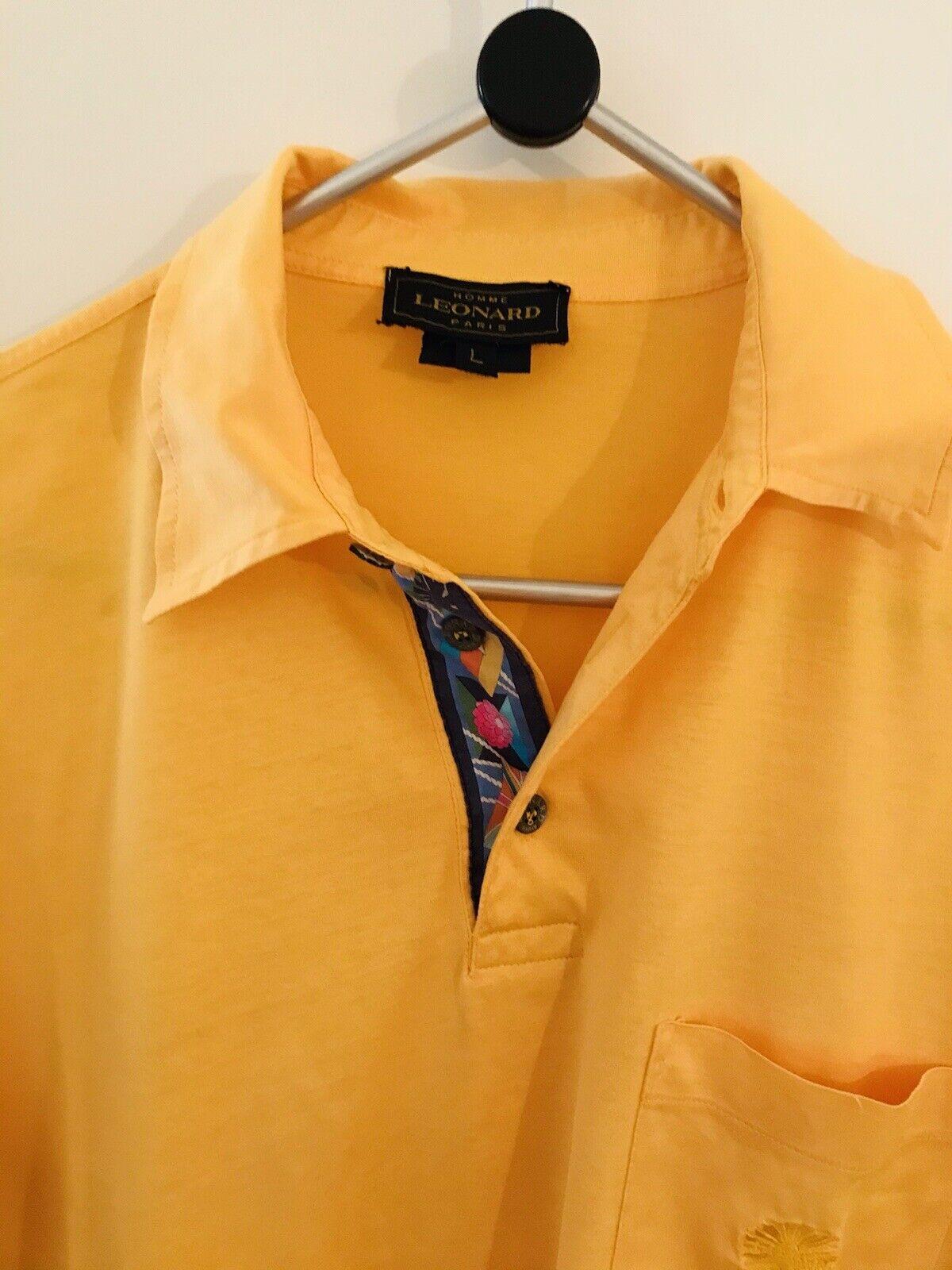 LEONARD Homme Paris Herren Shirt in L
