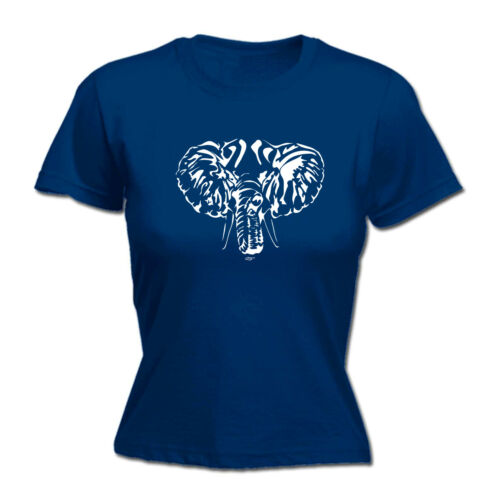 Elephant Head Funny Novelty Tops T-Shirt Womens tee TShirt