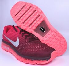 New Nike Air Max 2017 Night Maroon White Red Mens Shoes Sz 10 10.5 | 849559