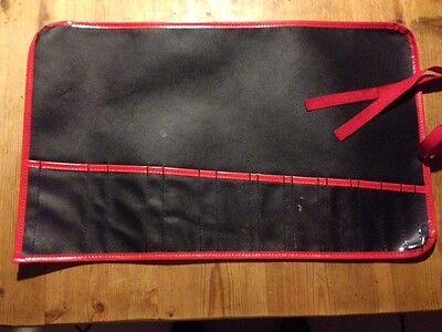 Offen Werkzeugtasche Rolltasche Werkzeugmappe Rolle 10 Fach Bag Tasche Zwickel Nylon