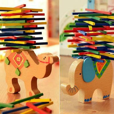 Gift Baby Toys Balancing Toys Child Camel Wooden Beech Wood Educational Elephant