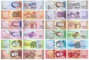 Venezuela-2-20000-bolivares-Conjunto-de-12-billetes-de-12-Piezas-Todo-Impecable-UNC