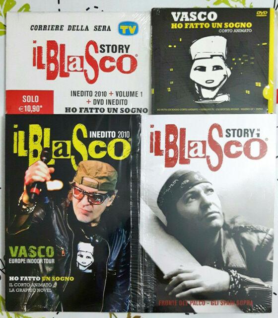 Vasco Rossi  Il Blasco Story N 1 Inedito 2010 + Cd + Book Sigillato Corriere