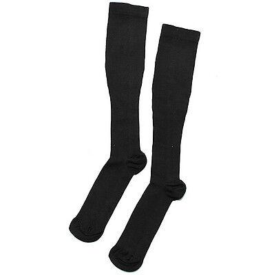 FD1276 Varicose Vein Stock Running Sports Knee High Relief Compression Socks