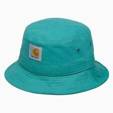 e44691e30c48e Carhartt WIP X  Stussy Bucket Hat  dearborn  Teal S-m for sale ...