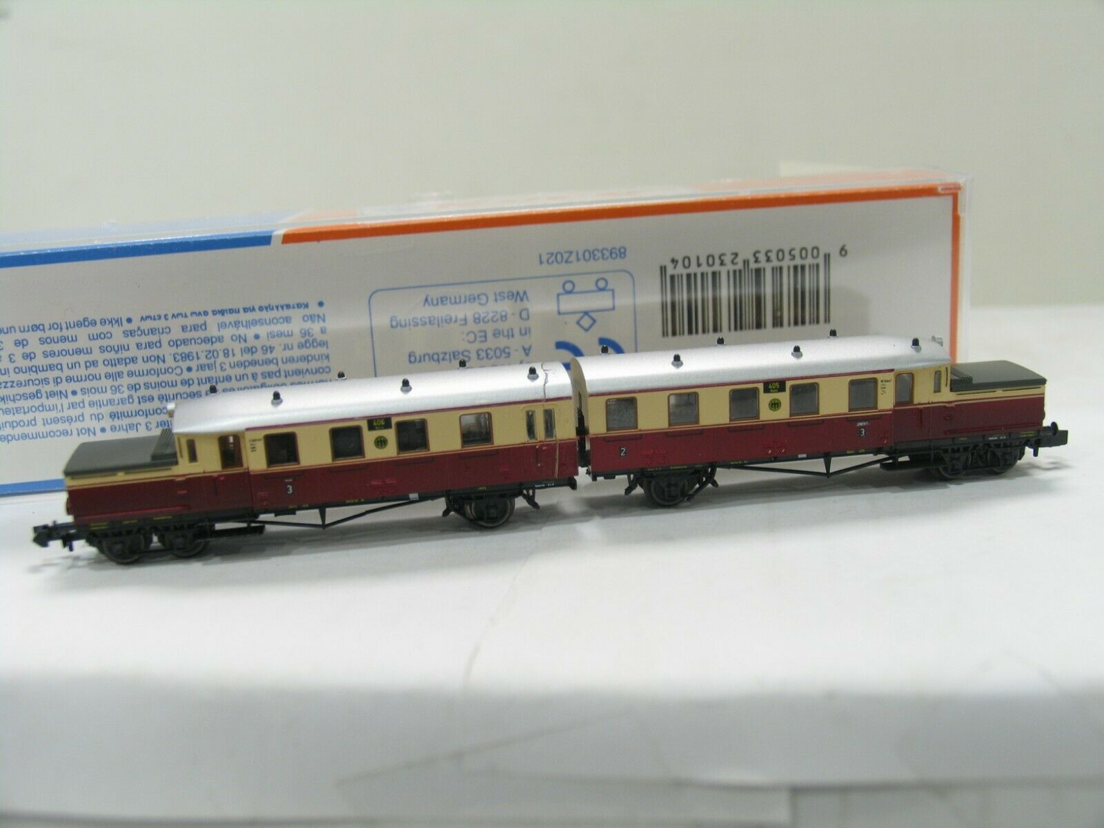 Roco 23101 Railcars ETA 177 Red Beige The DRG faulty NH149