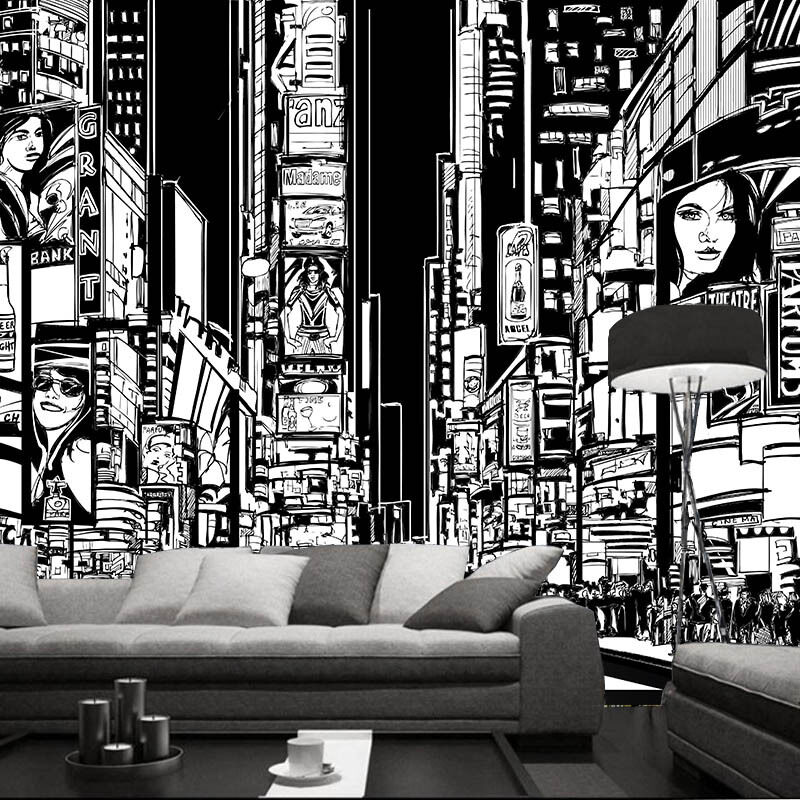 3D City Painting 944 Wall Paper Wall Print Decal Wall Deco Wall Indoor Murals