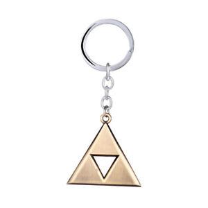 The-Legend-of-Zelda-Power-Triforce-LOGO-Pendant-Keychain-Keyring