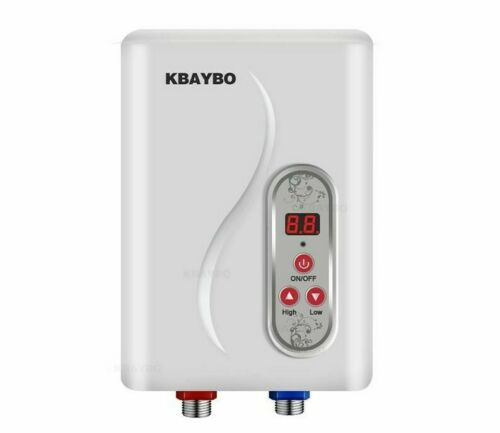 Instant Electric Water Heater Tankless Instantaneous Water Heating 7000W