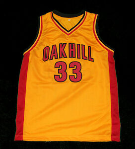7d84f9076 KEVIN DURANT OAK HILL HIGH SCHOOL Yellow JERSEY NEW SEWN ANY SIZE