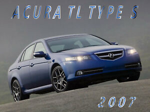 Details About 2007 Acura Tl Type S Sedan Refrigerator Magnet 40 Mil