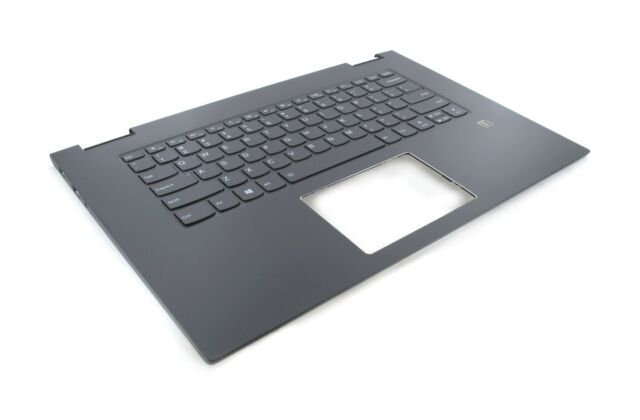 5cb0q96476 Palmrest Keyboard For Lenovo Yoga 730 15ikb Upper Case Iron Grey For Sale Online Ebay