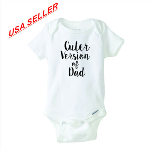 Cuter Version of Dad Gerber Onesie infant baby shower cute funny shirt gift