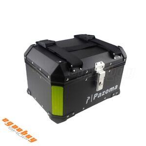Universal-Motorcycle-Rear-Monokey-Outback-Top-Case-Luggage-Storage-Box-Black