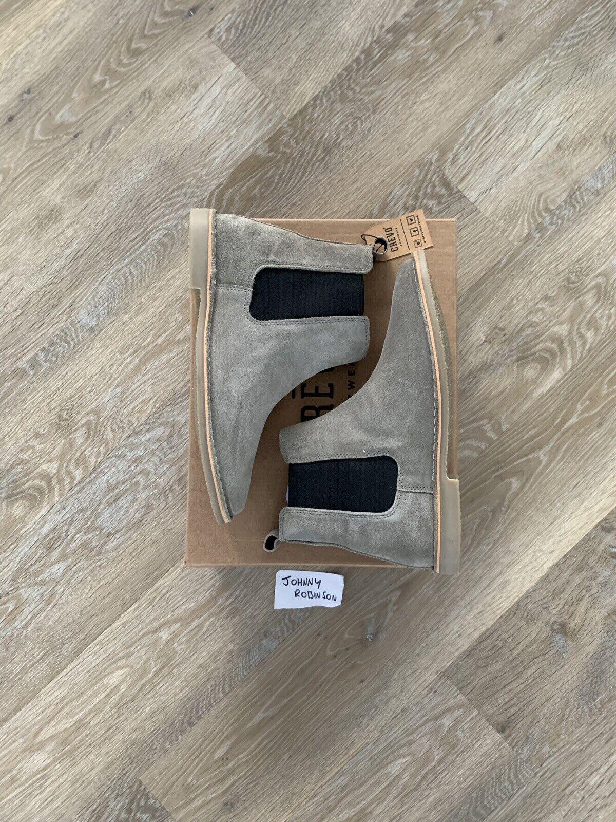Crevo Footwear 1 Blake Chelsea Boot in Grey - US 8   UK 7.5   EU 41.5
