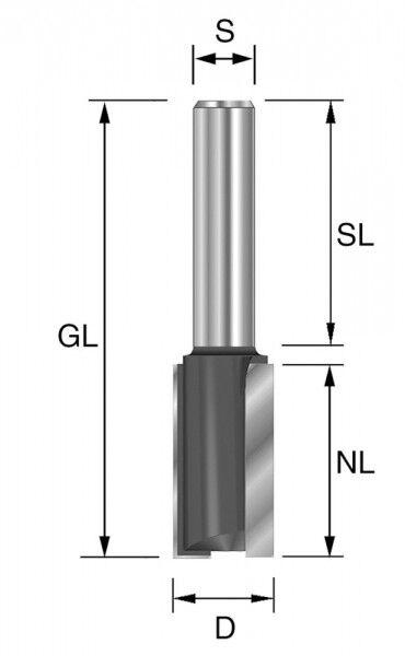 Hm Hw Straight Bits 10 x 30 mm Shaft 8mm Routerbits Grundschneidend! Extra Long