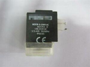 For-FESTO-solenoid-coil-663955-MESB-3-230VAC