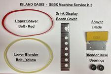 Island Oasis Blender Sb3x Machine Service Kit Oem Parts See Discription