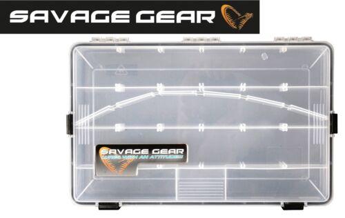 Angelbox für Köder Wasserdichte Tacklebox Savage Gear Lure Box 35,5 x23x5cm