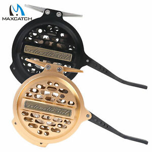 Automatic-Fly-Fishing-Reel-Super-Light-CNC-Machined-Aluminum-Body