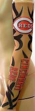 NEW! Cincinnati Reds Black Tattoo Arm Sleeve Sun Block Nylon Baseball Digital