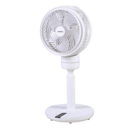 Arebos 3d Ventilatore ø23cm luftzirkulator ARIA RADIATORE VENTOLA 55w da Tavolo o pavimento