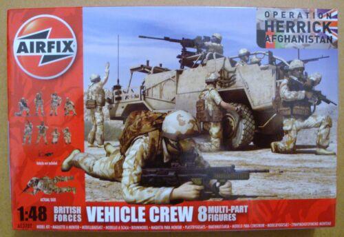 AIRFIX® A03702 British Army Vehicle Crew Afghanistan Figuren in 1:48