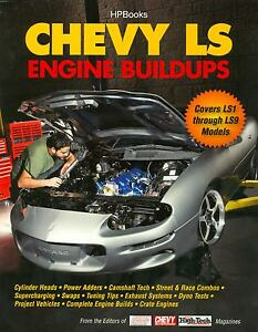 CHEVY ENGINE BUILDUPS - COVERS LS1 THRU LS9 MODELS
