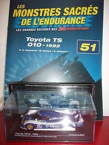 toyota-TS10-1992-raphanel-sekiya-24-heures-H-du-le-mans-1-43-monstres-sacres