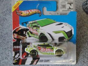 2013 Hot Wheels HW RACING Loop Coupe 109//250 Blue Version