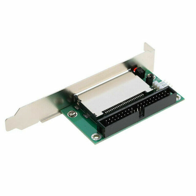 40-Pin Cf Compact Flash Card To 3.5 Ide Converter Adapter Pci Bracket Back H4T6