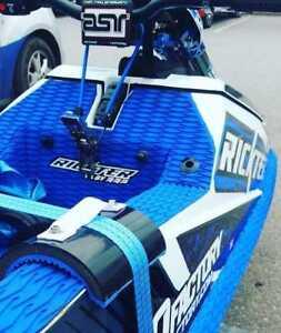 FRI Jetski Protective Tie Down Pads - Yamaha Superjet, Rickter, Krash, SXR Etc