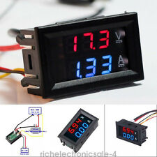 DC 10A 100V LCD Digital Volt Voltage Watt Current Power Meter Ammeter Voltmeter