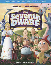 The Seventh Dwarf 3D / 2D (Blu-ray/DVD, 2-Disc Set, 3D) Animated classic