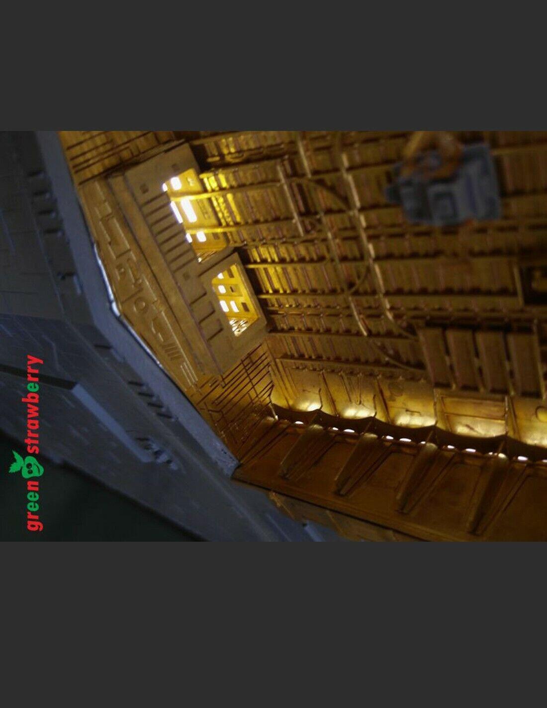 el mas reciente Estrella destroyer hangar hangar hangar bay - verdestrawberry for Zvezda Revell 1 2700 Estrella Wars  entrega rápida