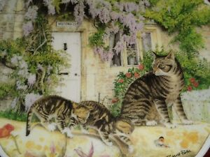 Royal-Albert-Collectors-Plate-A-NEW-DISCOVERY-From-CATS-AND-COTTAGES