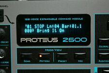 Emu Proteus 2500 - PX-7 MP-7 XL-7 Command Station VFD + SSD upgrades !