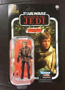 Star Wars The Vintage Collection Luke Skywalker Endor 50th Walmart VC198