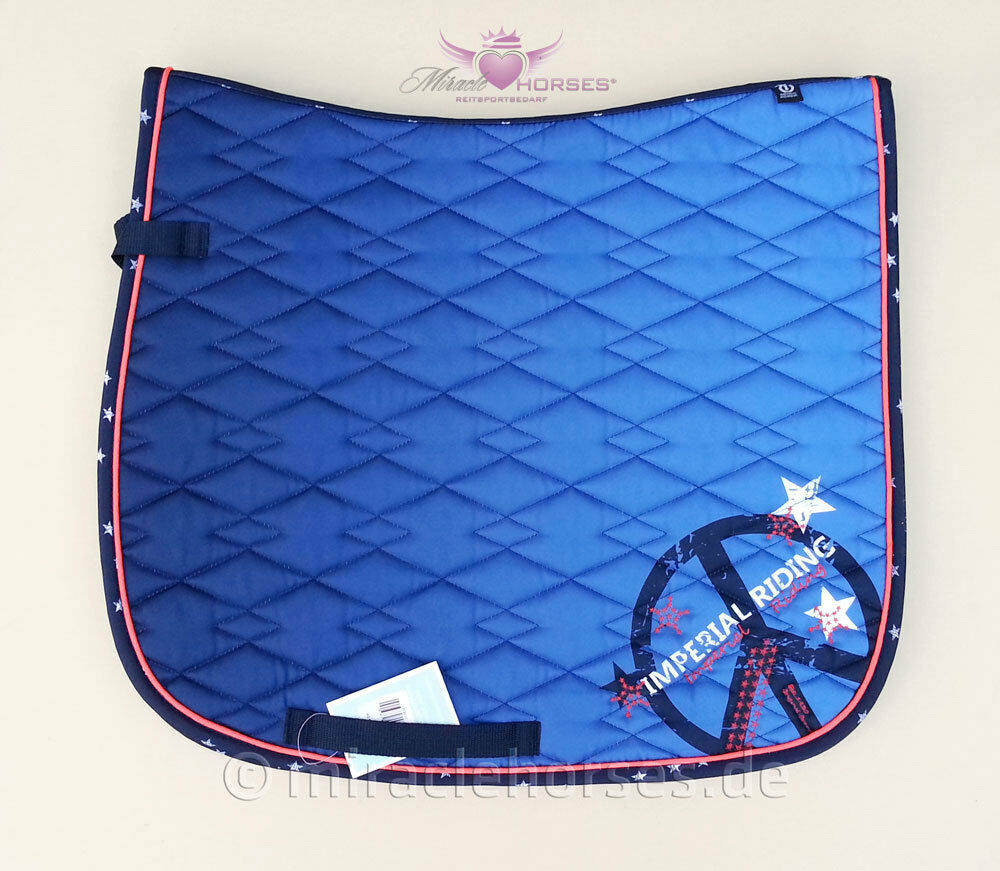 Imperial Riding Etoile Kleidage Saddle Pad Navy Blau Größe Full New
