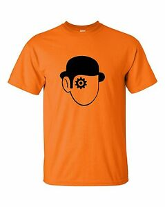 A-CLOCKWORK-ORANGE-DROOG-Kubrick-Cult-Film-Heavy-Cotton-t-shirt-All-Sizes-S-XL