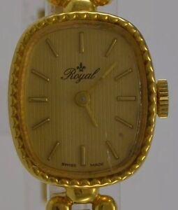 Vintage-Damenuhr-ROYAL-Handaufzug-Swiss-made