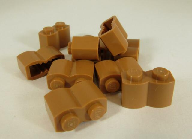 LEGO 30136 PALISADE BRICK 1x2 LAVENDER QTY x 15 BRAND NEW