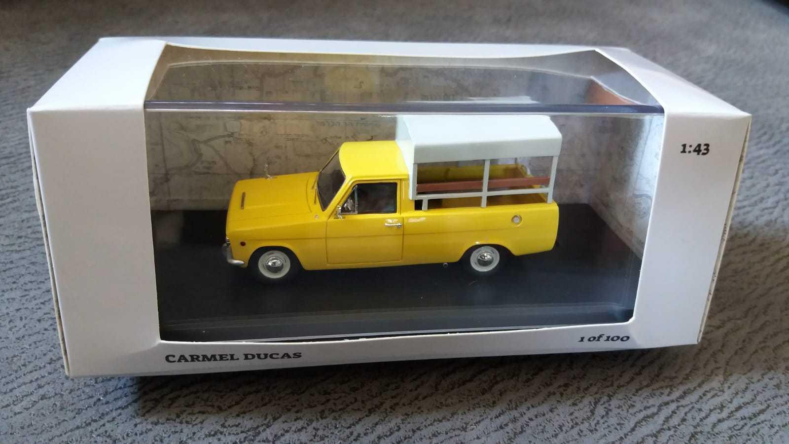 Carmel Carmel Carmel Ducas Miniature Car Model Israel Resin 1 43 Scale  Unique Susita Vintage 5bc95a
