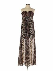 NWT-Sans-Souci-Women-Brown-Dress-S
