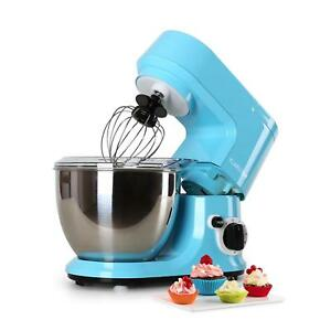 NEW-800W-BLUE-4L-FOOD-PROCESSOR-DOUGH-HOOK-KITCHEN-STAND-MIXER-STAINLESS-STEEL