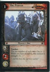 Lord-Of-The-Rings-CCG-Card-RotK-7-C303-Orc-Pursuer